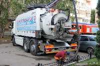 Итальянская техника начала работать на канализационных сетях Самары
