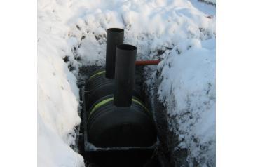 Эксплуатация септика зимой